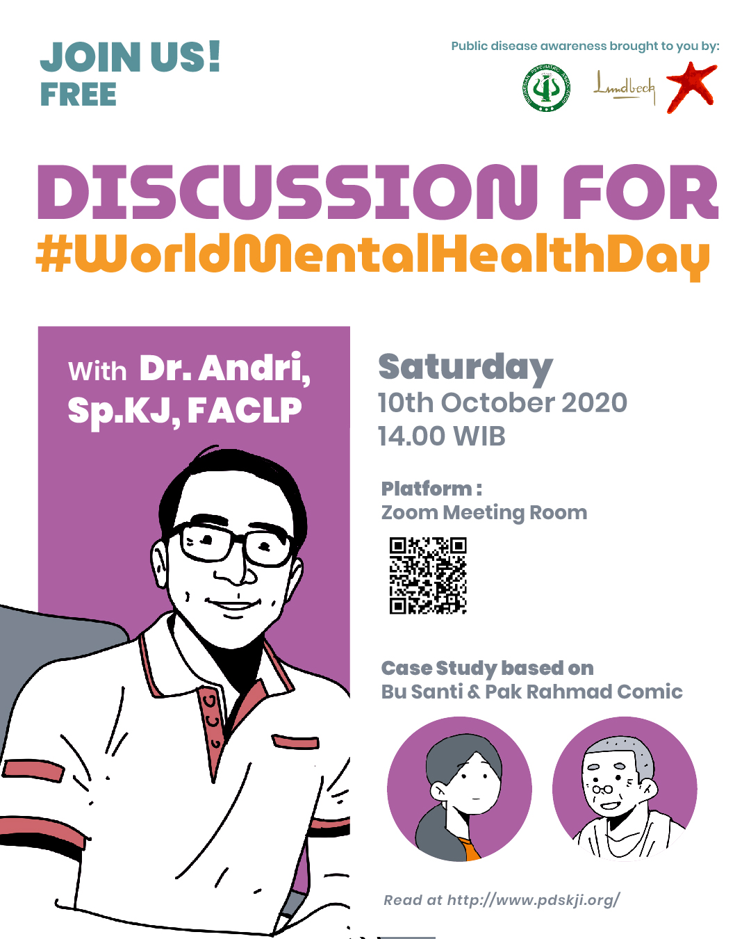 #WorldMentalHealthDay (Dr.Andri,Sp.KJ,FACLP)